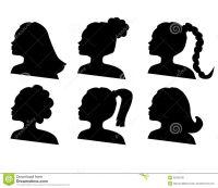 woman face silhouette braid hair - Google Search | Tattoos ...
