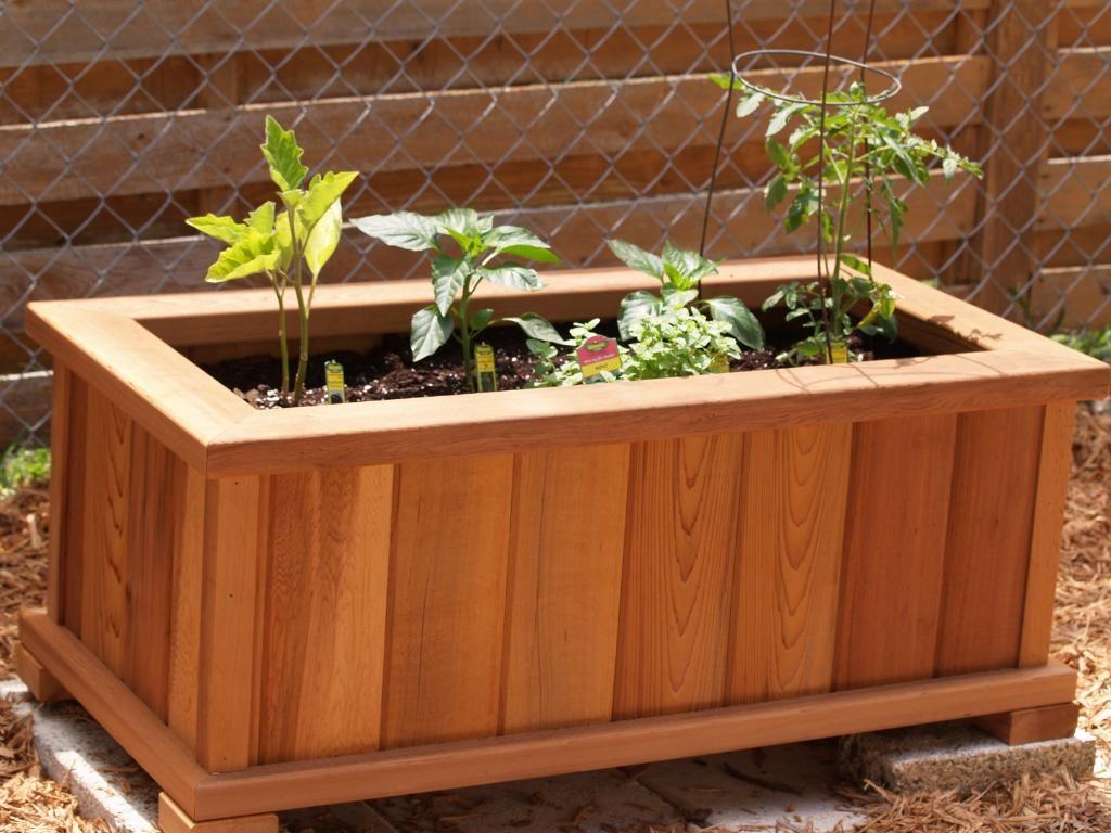 Cedar Planter Box Plans Planter Boxes Pinterest Planters
