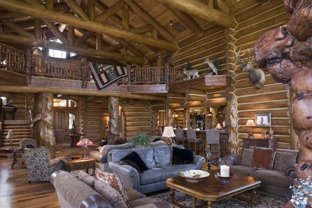 Decorate Your Log Home Like An Interior Designer