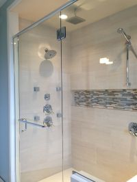 Mosaic shower niche | bathrooms | Pinterest | Shower niche ...