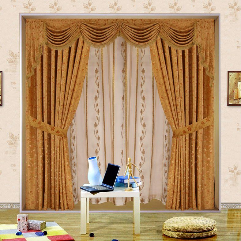 Fabric Shower Curtains With Valance on Pinterest  Fabric