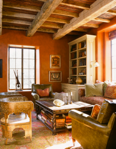 Los angeles based interior designer martyn lawrence bullard created an adobe in santa fe for art gallery owner allene lapides and her husband jerry also jeffers design group architecture interiors pinterest rh