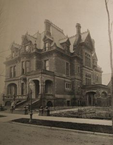 The mark hopkins mansion victorian house restoration architecture pinterest san francisco earthquake and also rh