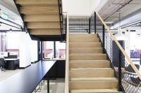 Stairs   Commercial   Treads   Mesh Balustrade   Handrail ...