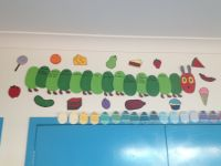 Very Hungry Caterpillar birthday chart | preschool ...