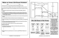 Ocean Life Zones Worksheet Free Worksheets Library ...
