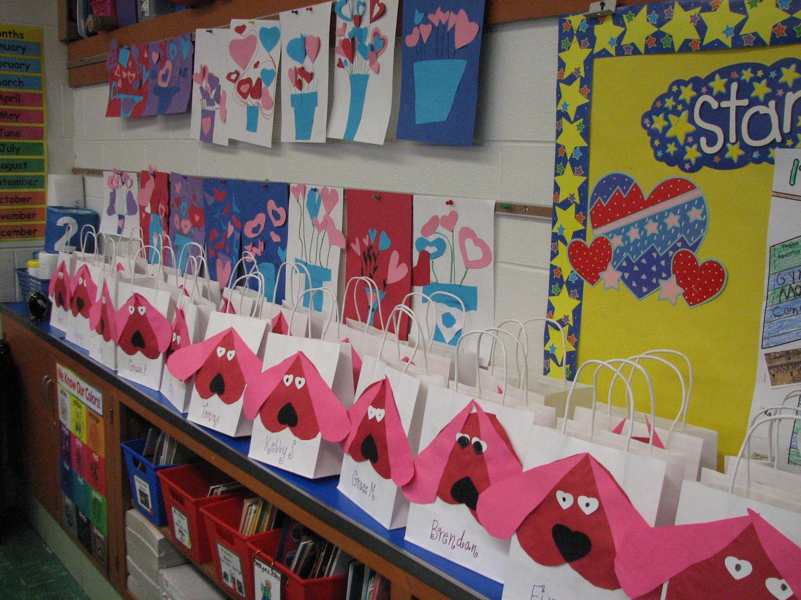 Valentine S Day Crafts For Second Graders Dew Drop Into