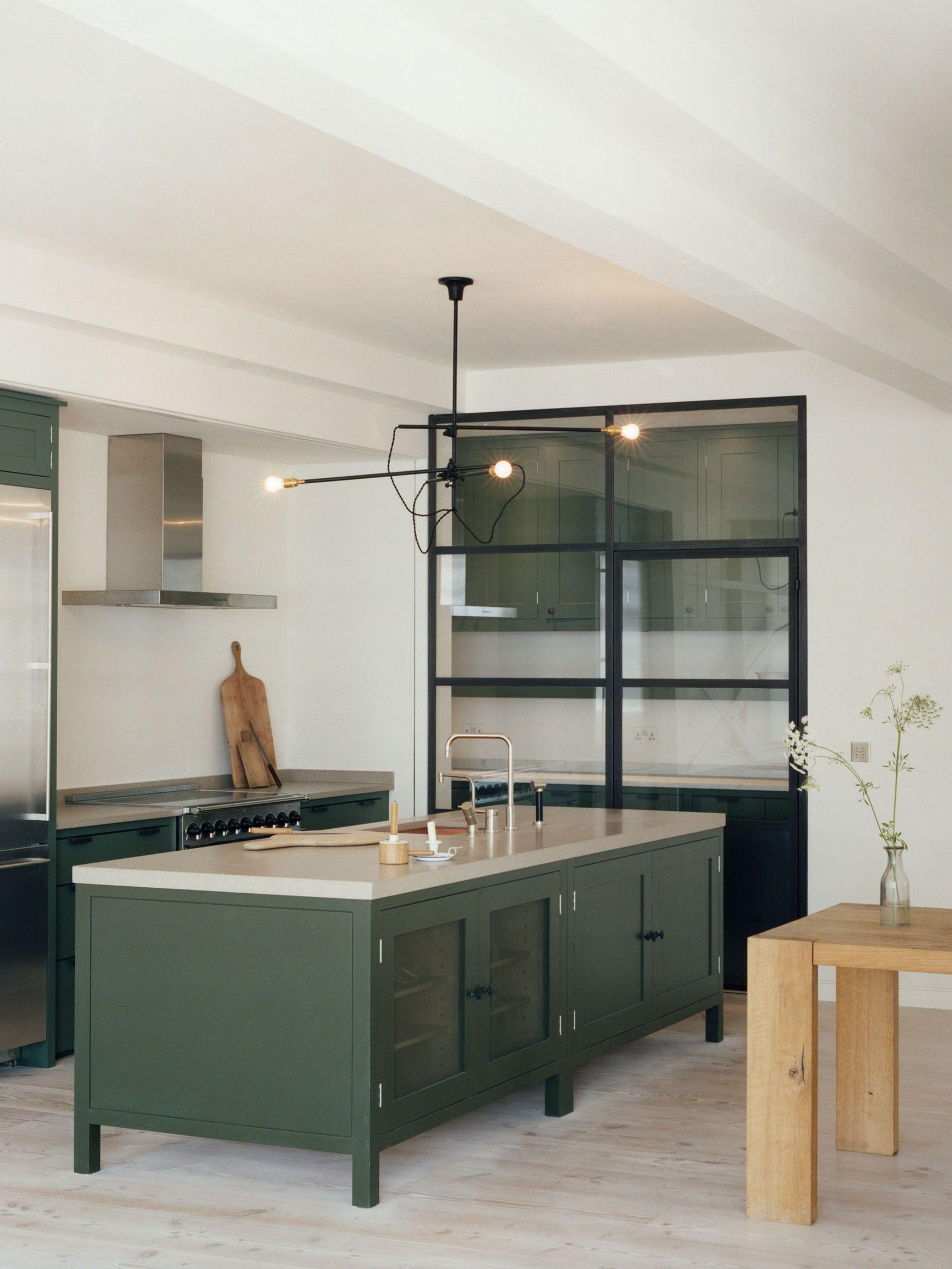 Green Cabinet Kitchens  Lexi Westergard Design Blog  In