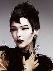 alternative hairstyles choppy