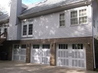 Amarr Classica 3000 Garage Doors with a two tone color ...