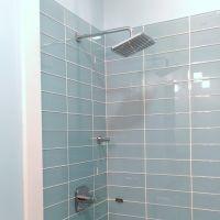 Lush Vapor 4x12 Pale Blue Glass Subway Tile Shower ...