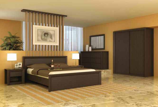 Simple Bedroom Wall Wardrobe Design Modern Decorating Ideas With Calm Color Shades And