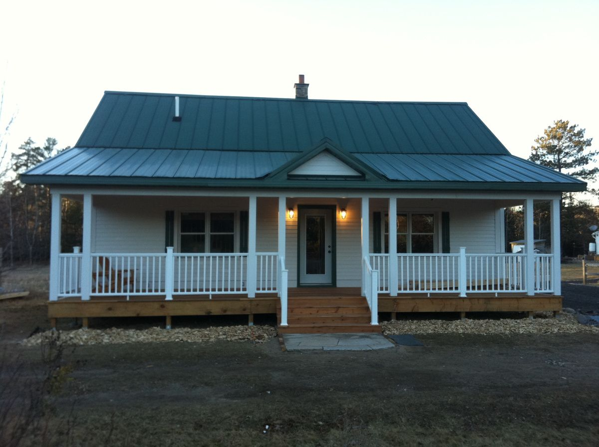 Manufactured Homes Porch This Is The Picture Of Dark Mobile Home