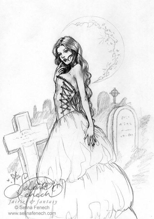 Pretty Princess, Dark Secret by Selina Fenech * Coloring