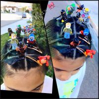 Crazy hair day at school for boys | my creation (miris ...