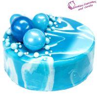 How to Make a Mirror Cake (Mirror Cake Glaze) ~ Cookies ...
