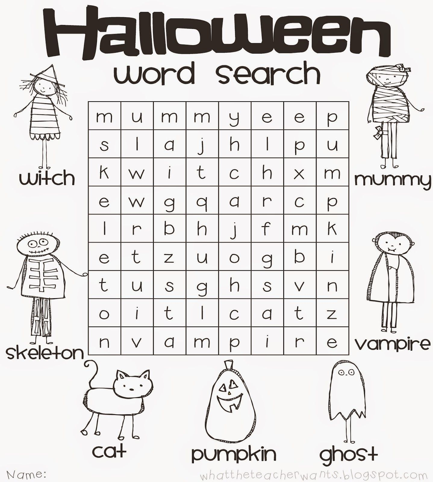 Blog Hoppin Planning A Classroom Halloween Party