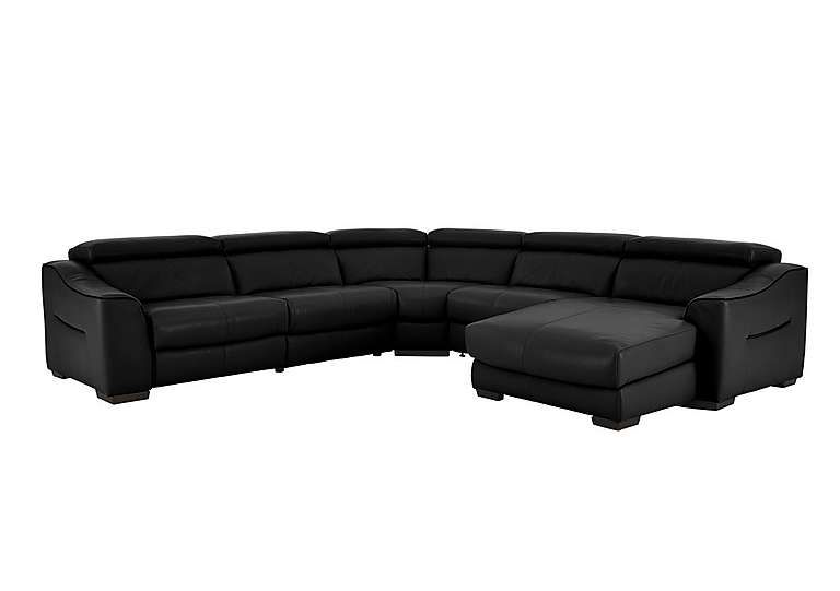 furniture village leather corner sofa bed rattan garden sets elixir recliner save 1400 dark decor and buy now the at enjoy a sleek contemporary style smooth power action