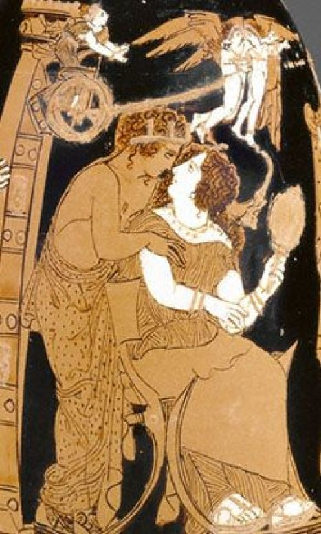 Image result for Helen Greek vase