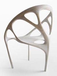 Organic wood chair by Daniel Widrig | HomeNest ...