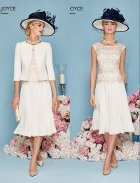Lace Chiffon Short A Line Mother Of The Bride Dresses ...
