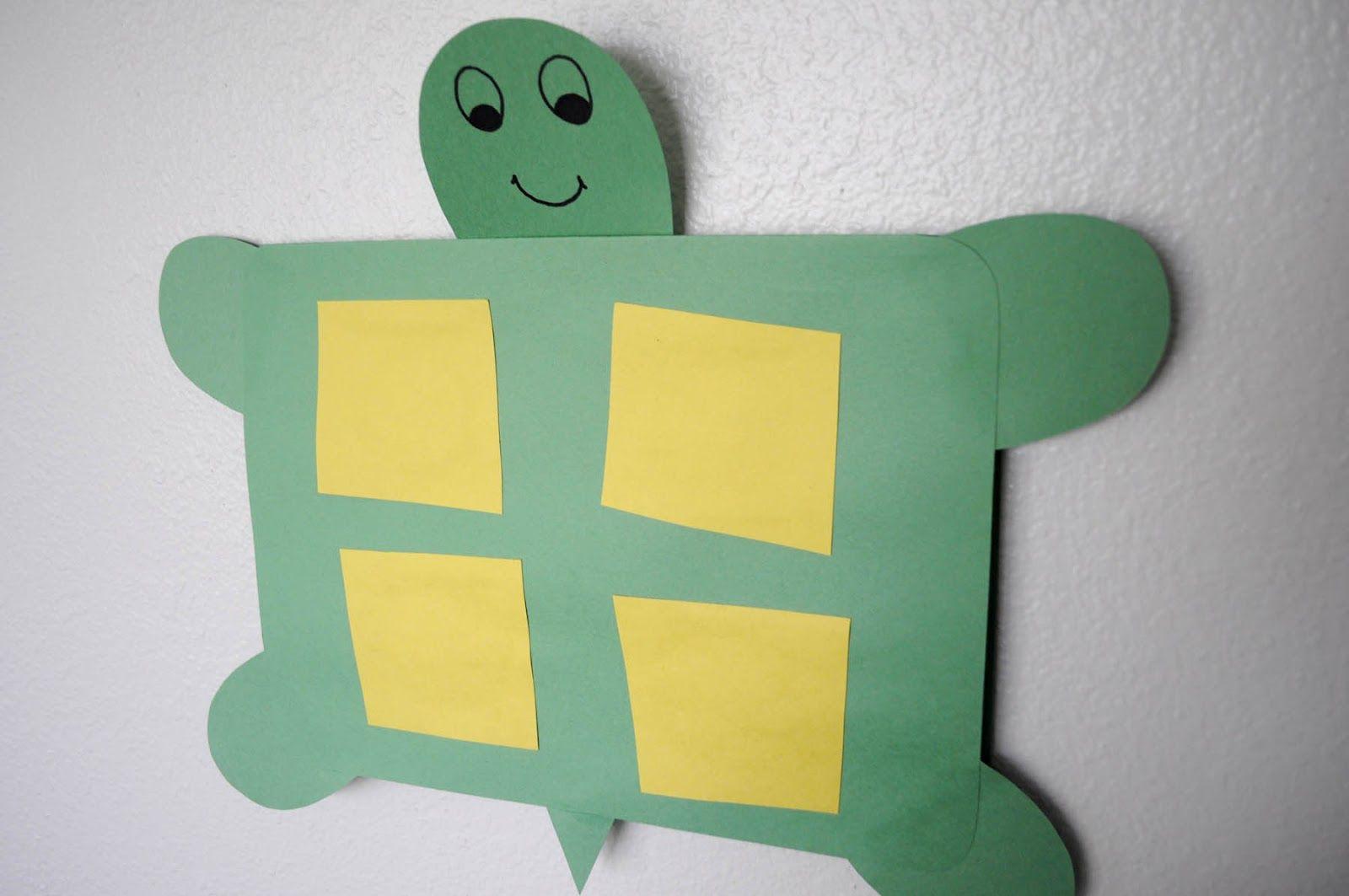 Tucker Turtle Idea