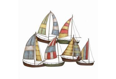 Metal sailboats nautical wall art decor also lake pinterest rh au