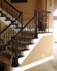 The 25+ best Wrought Iron Banister ideas on Pinterest
