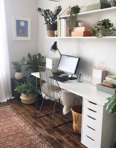 Cool home office design idea also designs room and desks rh za pinterest