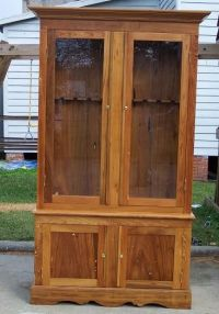 basic gun cabinet plans   Build   Pinterest   Cabinet ...