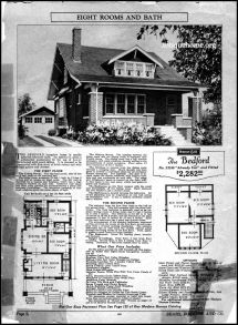 Sears-Roebuck House Floor Plans Kits