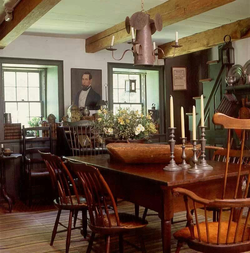 American Colonial Dining Room