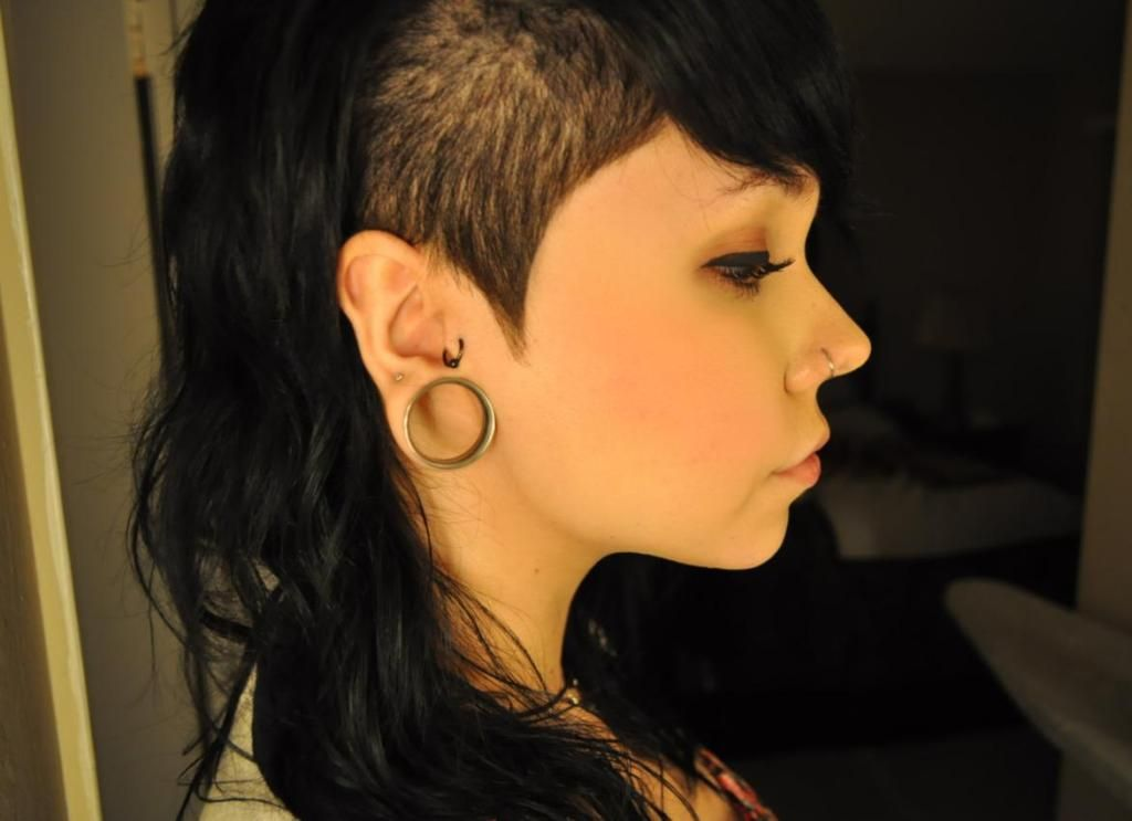 Shaved Sides Hairstyles For Women Shaved Sides Hairstyles Ideas
