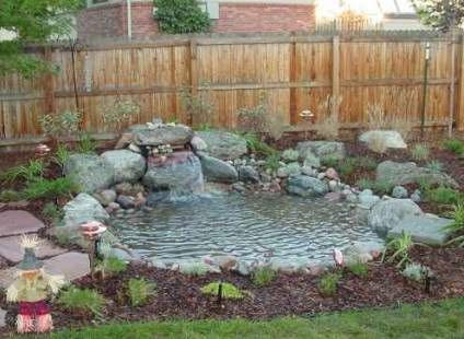 Small Water Feature Ideas The Rocks And Gravel Effectively
