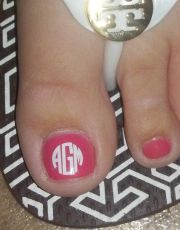 monogram nail decals https