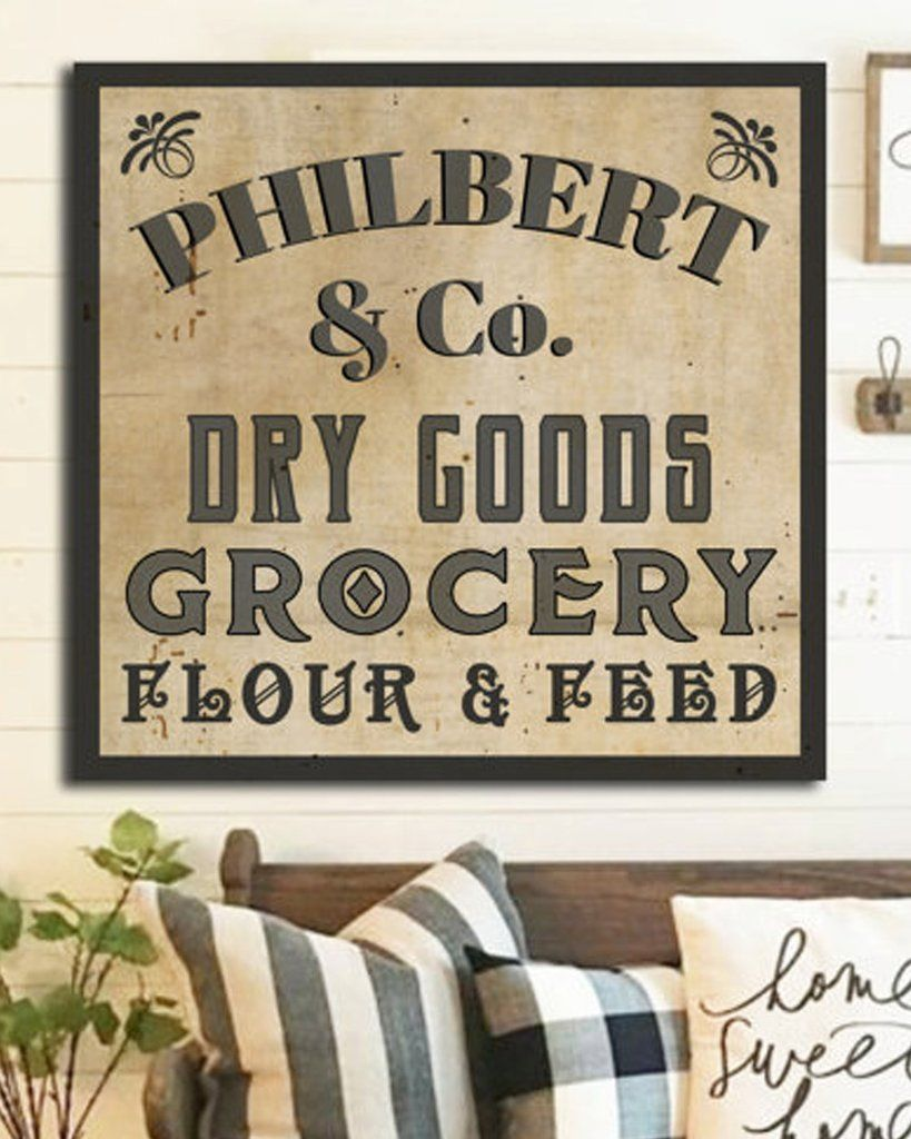 Family name sign personalized last also farmhouse wall rh pinterest