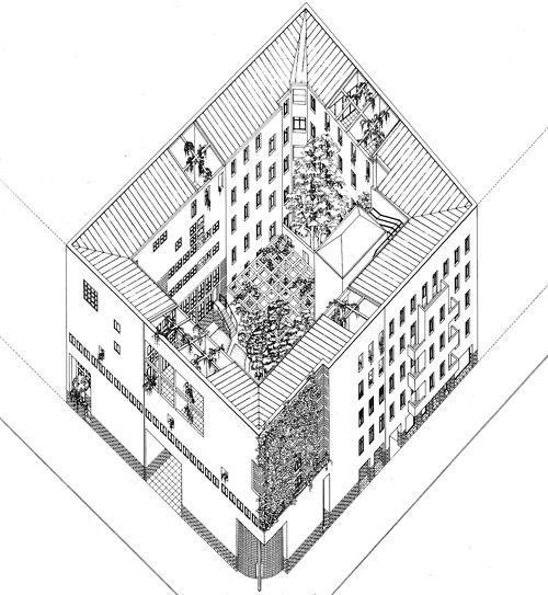 rationalistarchitecture: OSWALD MATHIAS UNGERS RESIDENTIAL