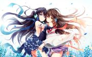 anime girls headphones japanese