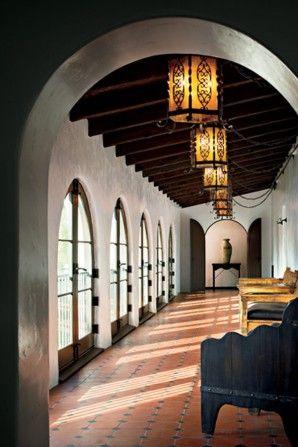 Spanish Colonial Hallwayfloor Option Spanish Colonial