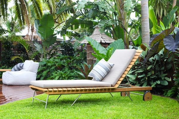 Comfortable Look Of Balinese Garden Patio Furniture Outside