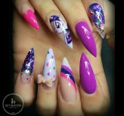 cute little pony nail art