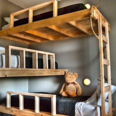 Best 25 Corner bunk beds ideas on Pinterest  Bunk rooms