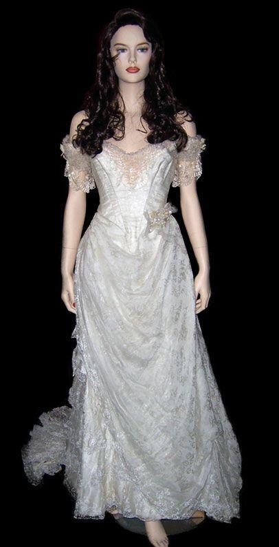 Christine Daae Wedding Dress