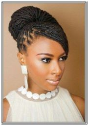 african cornrow updo hairstyles