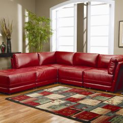 Low Sofa Design Leather Outlet London Warm Red Sectional L Shaped Ideas For