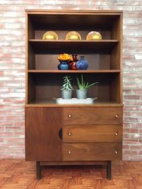 Stanley Furniture -- mid-century modern china cabinet ...
