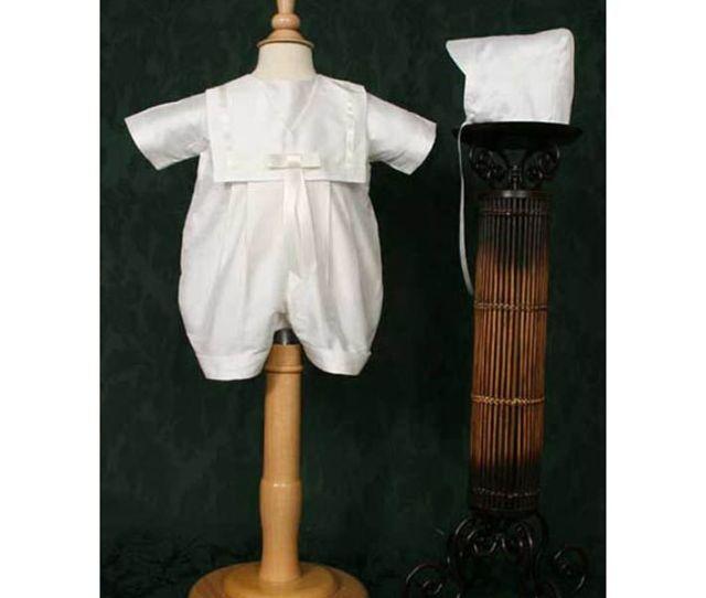 Christening Sailor Romper
