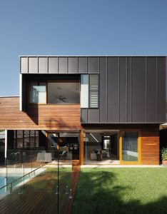 Metal cladding light home australian architecture sustainable also byram house zink roofs pinterest and exterior rh uk