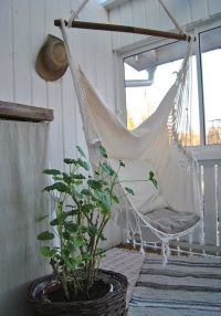 perfect out door seating, hammock, swing chair, boho ...