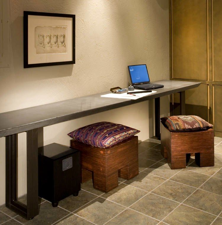the long narrow desk of my dreams  Spaces  Pinterest